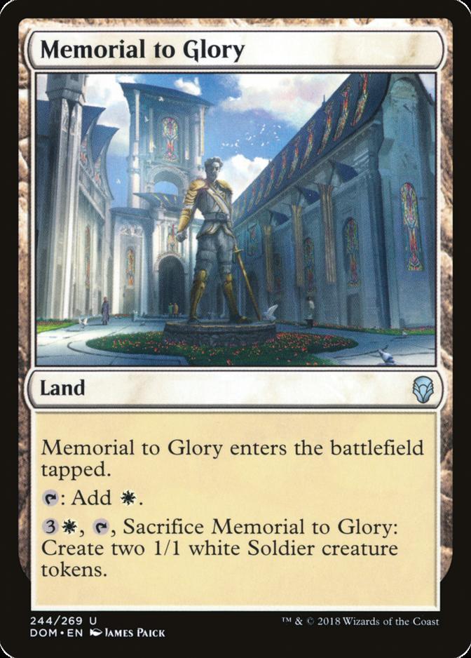 Memorial to Glory [DOM]