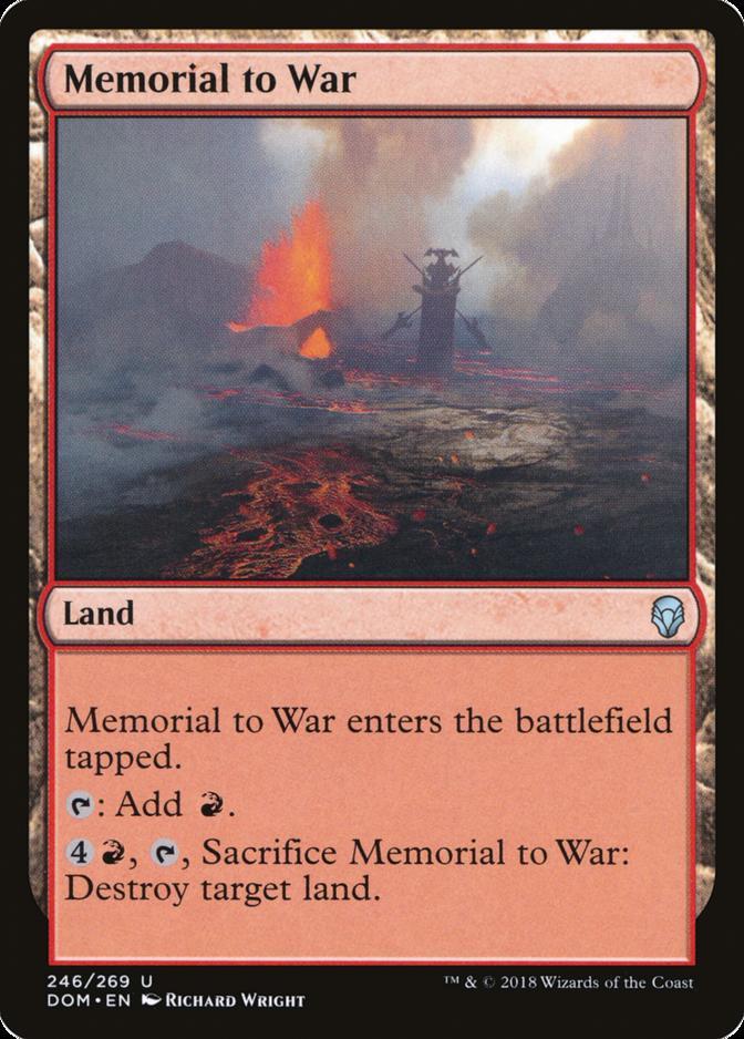 Memorial to War [DOM]