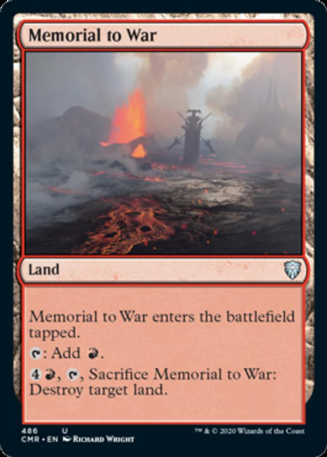 Memorial to War <precon> [CMR]