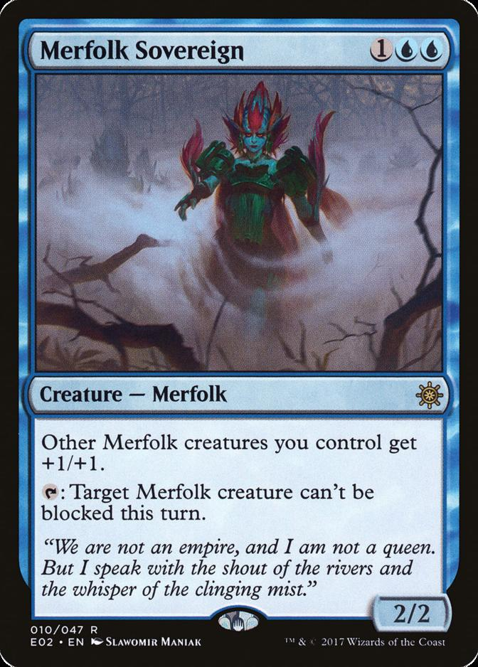 Merfolk Sovereign [E02]