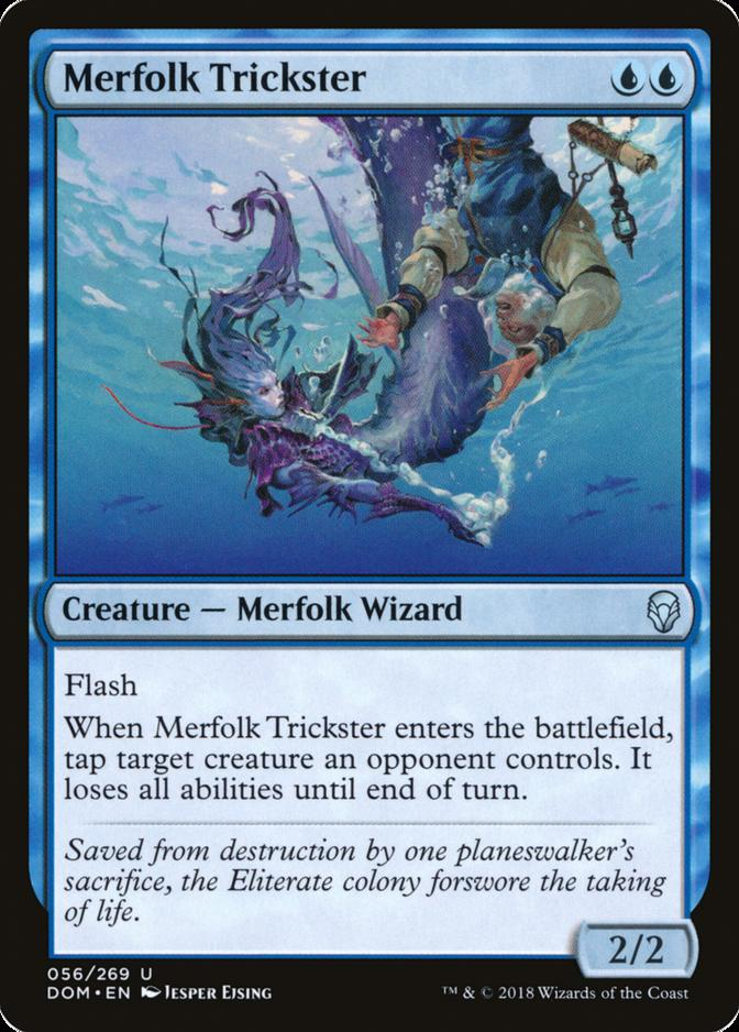 Merfolk Trickster [DOM]