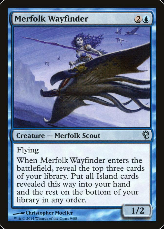 Merfolk Wayfinder [DDM]