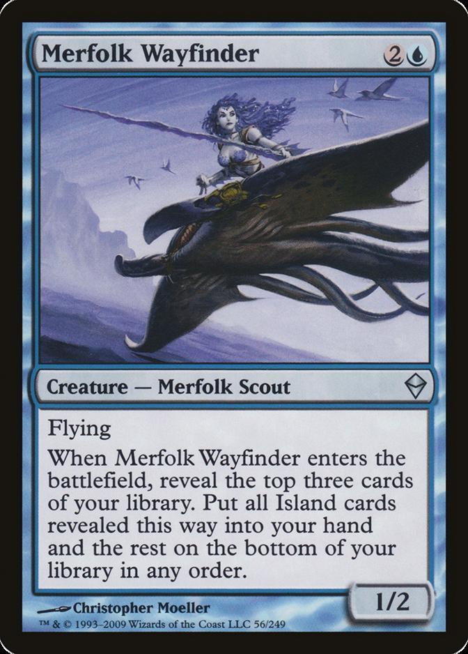 Merfolk Wayfinder [ZEN] (F)