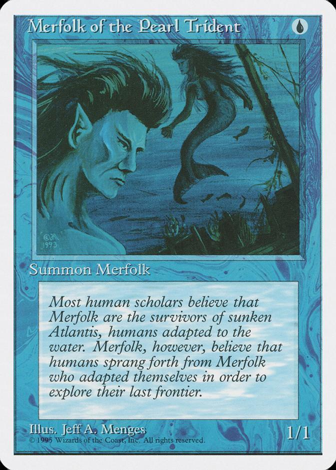 Merfolk of the Pearl Trident [4ED]
