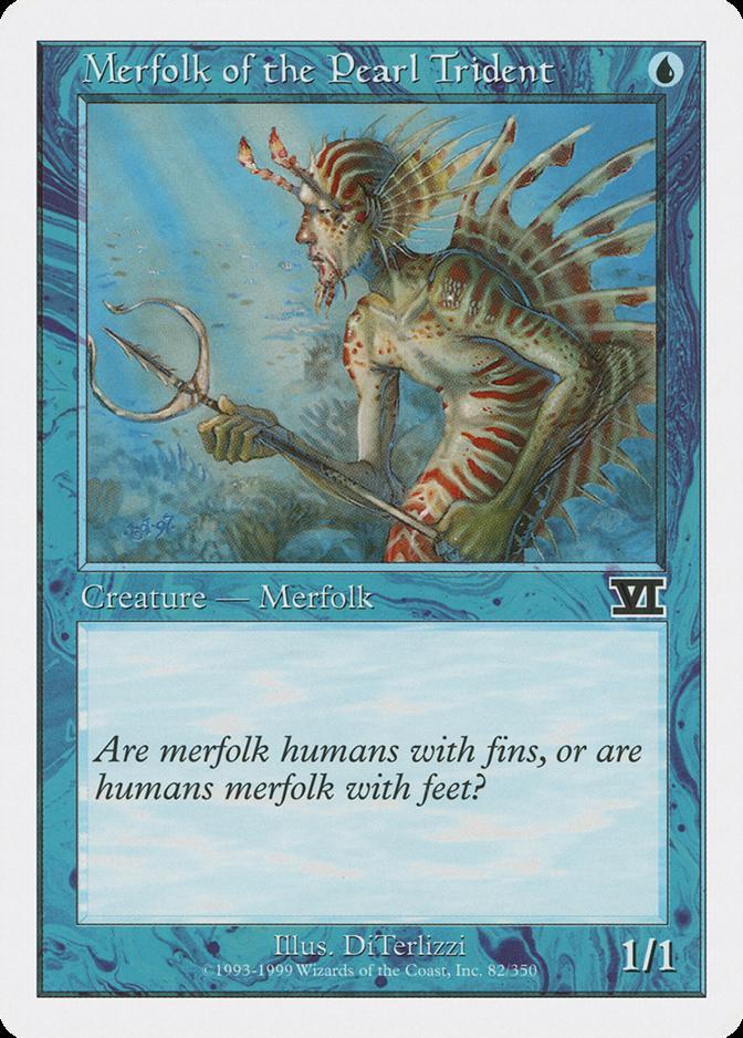 Merfolk of the Pearl Trident [6ED]