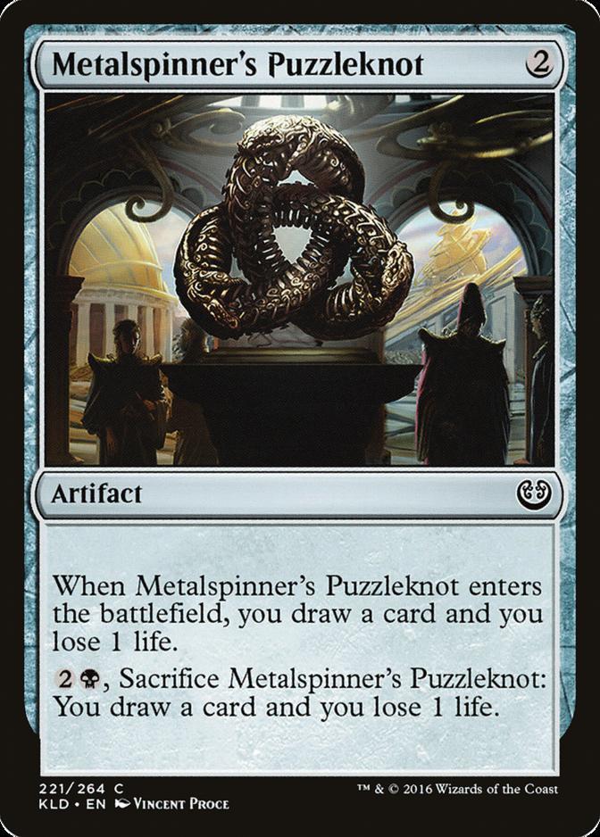 Metalspinner's Puzzleknot [KLD]