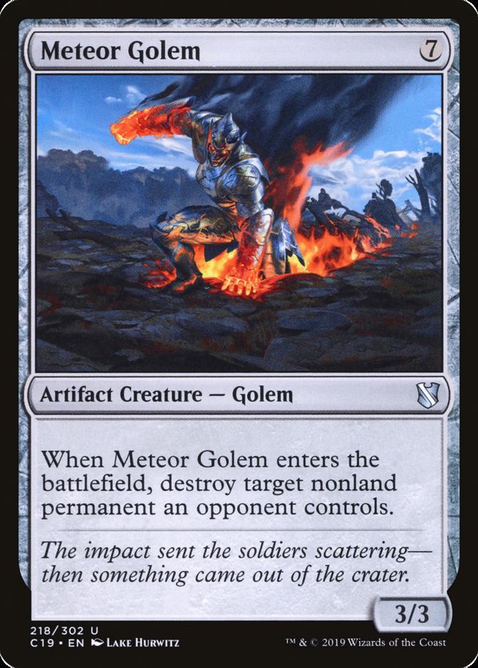 Meteor Golem [C19]