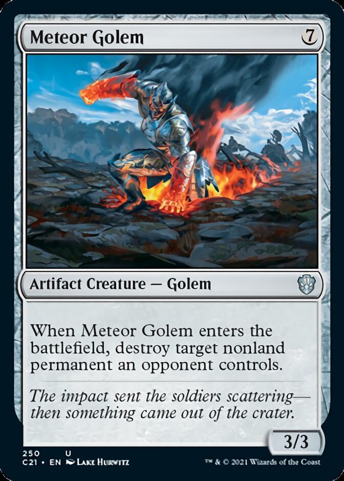 Meteor Golem [C21]