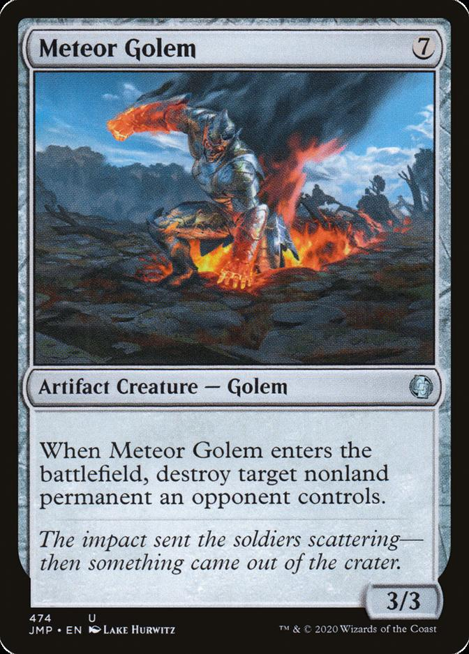 Meteor Golem [JMP]
