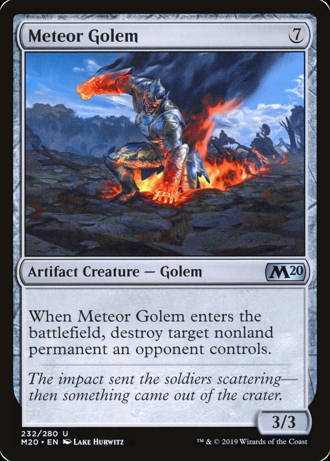 Meteor Golem [M20]