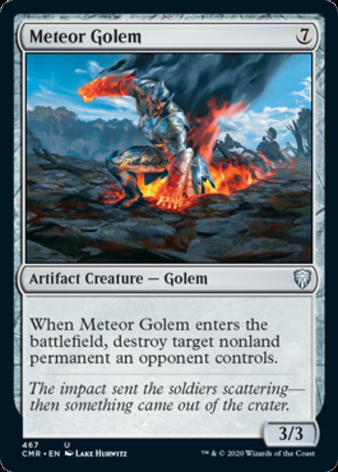 Meteor Golem <precon> [CMR]