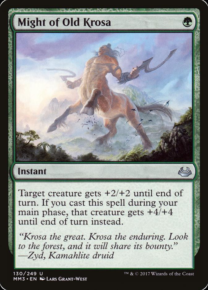 Might of Old Krosa [MM3]