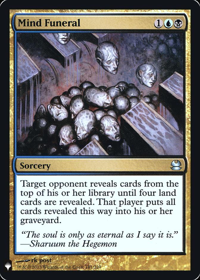 Mind Funeral [FMB1] (F)