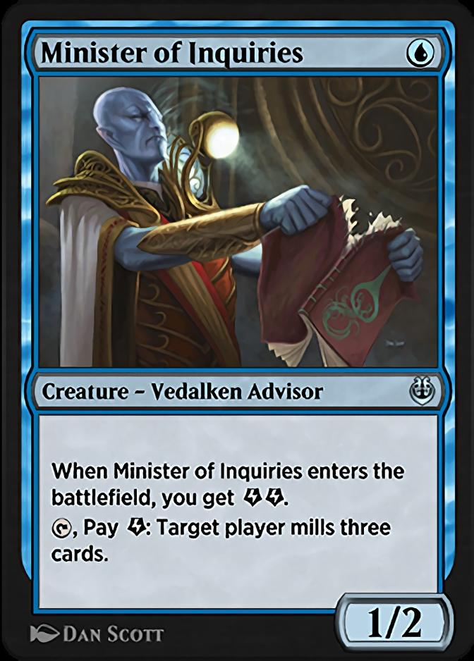 Minister of Inquiries [KLR]