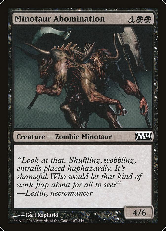 Minotaur Abomination [M14]