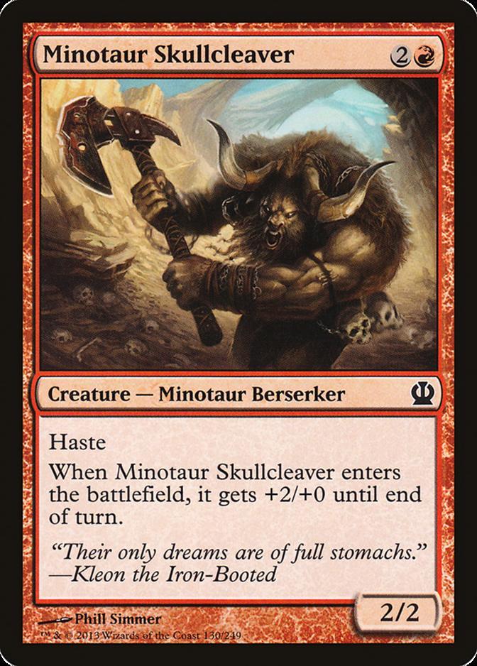 Minotaur Skullcleaver [THS]