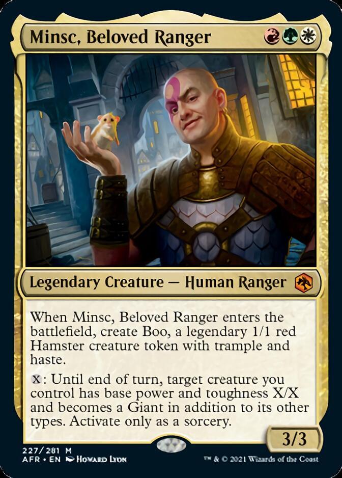 Minsc, Beloved Ranger [AFR]
