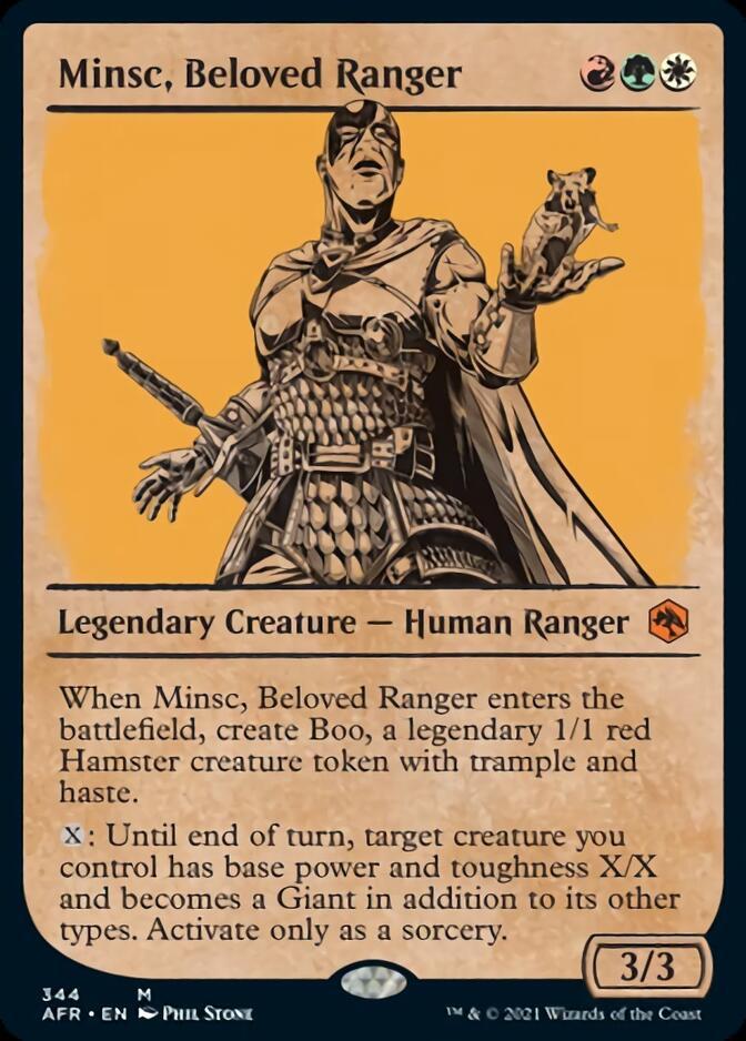 Minsc, Beloved Ranger <showcase> [AFR]