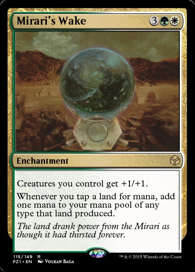 Mirari's Wake [PZ1]