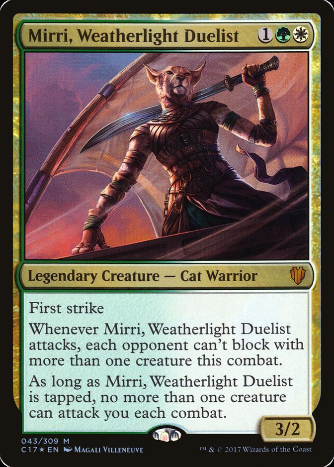 Mirri, Weatherlight Duelist [C17] (F)