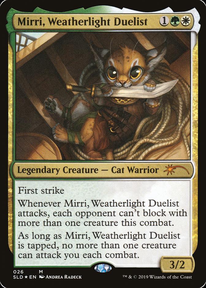 Mirri, Weatherlight Duelist [SLD]