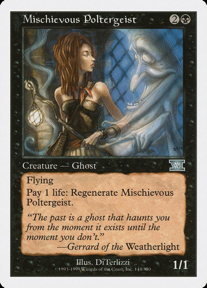Mischievous Poltergeist [6ED]