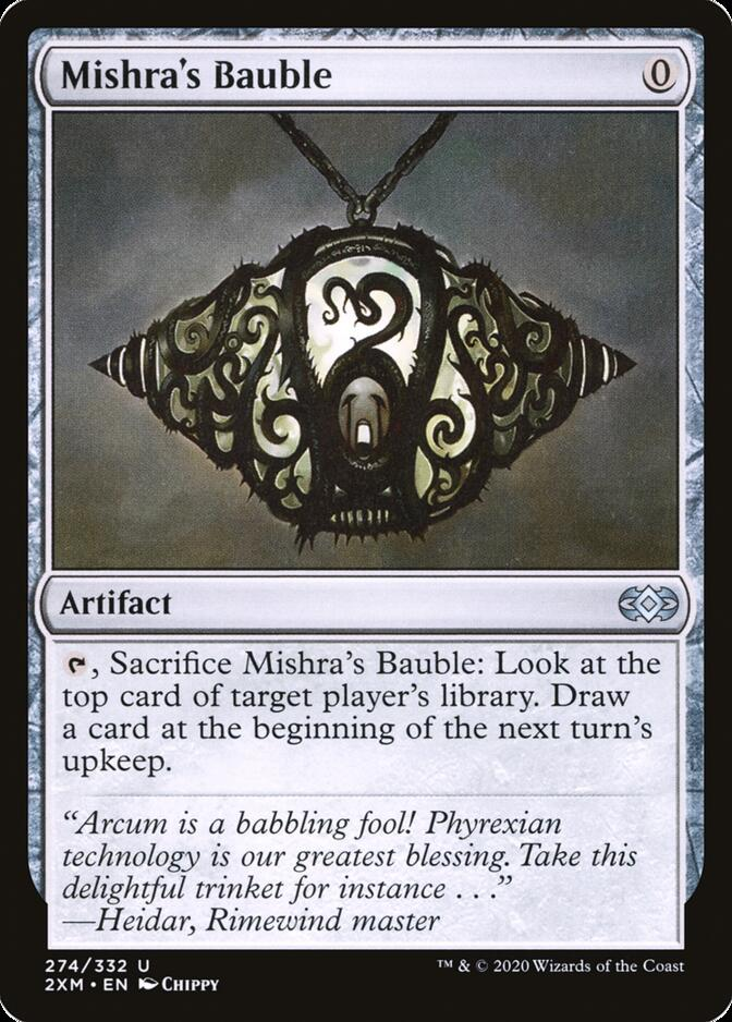Mishra's Bauble [2XM]