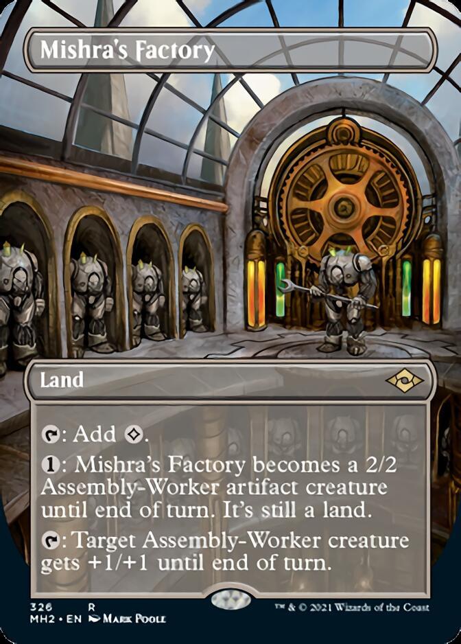 Mishra's Factory <borderless> [MH2]