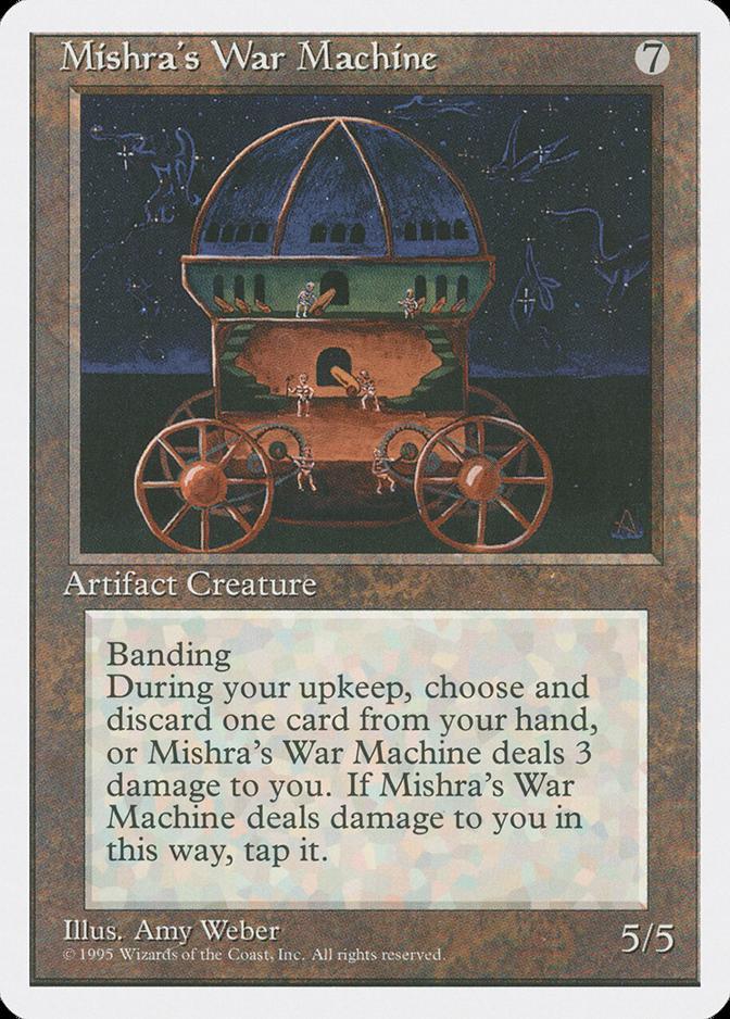 Mishra's War Machine [4ED]