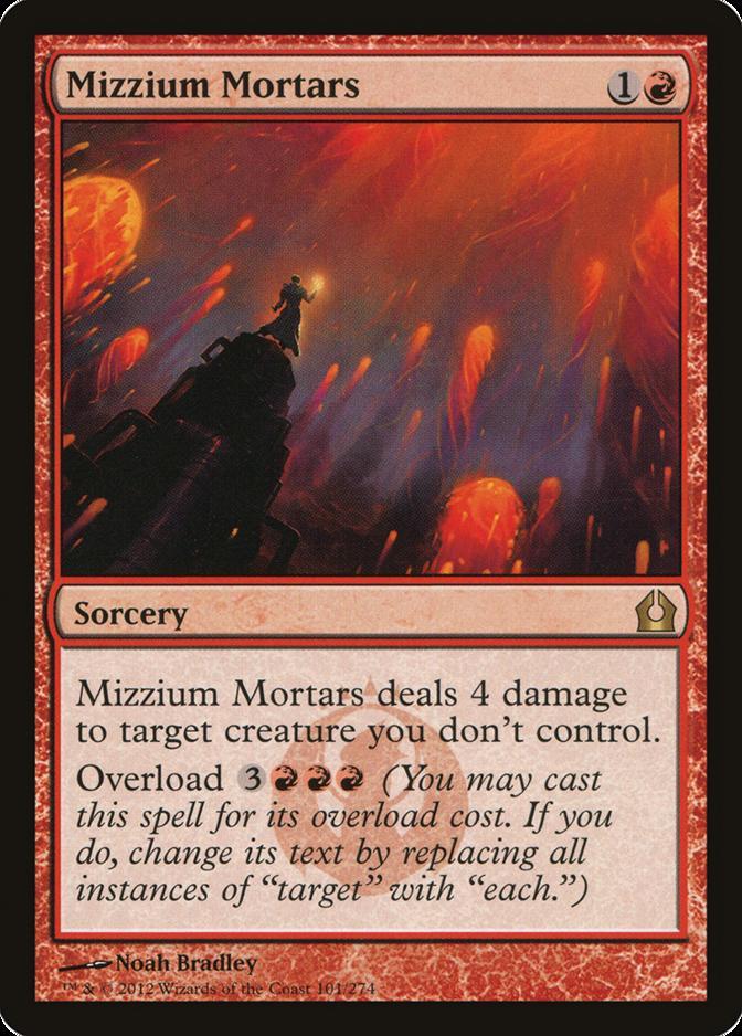 Mizzium Mortars [RTR]