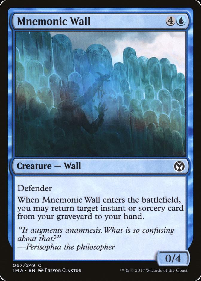 Mnemonic Wall [IMA]