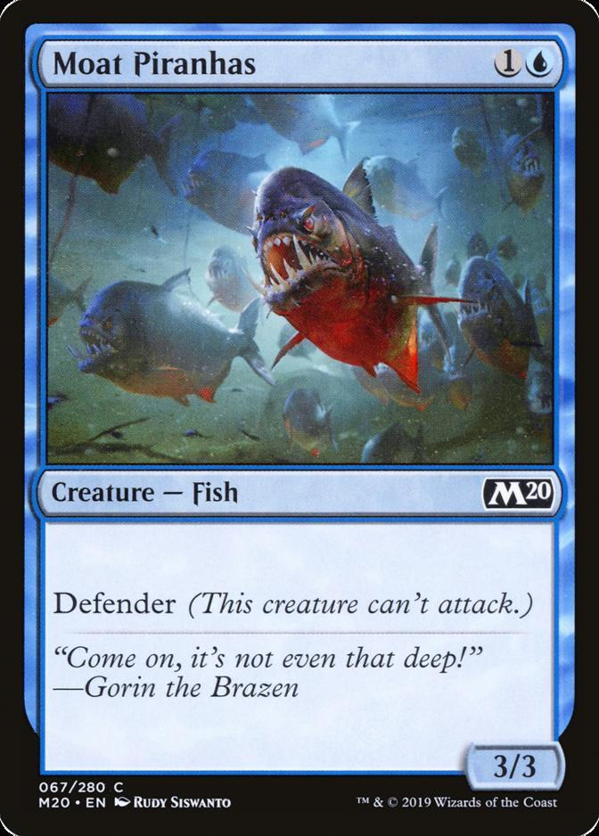 Moat Piranhas [M20]