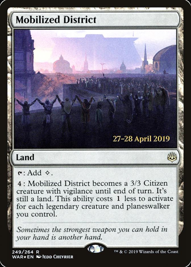 Mobilized District [PRM-PRE] (F)