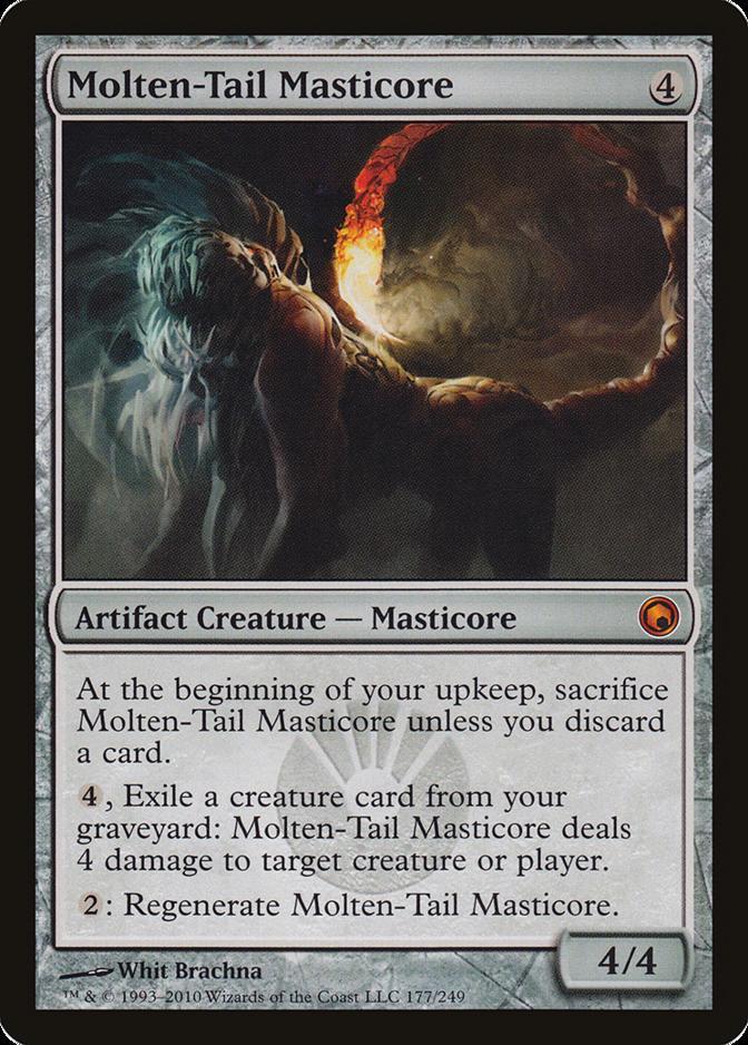 Molten-Tail Masticore [SOM]