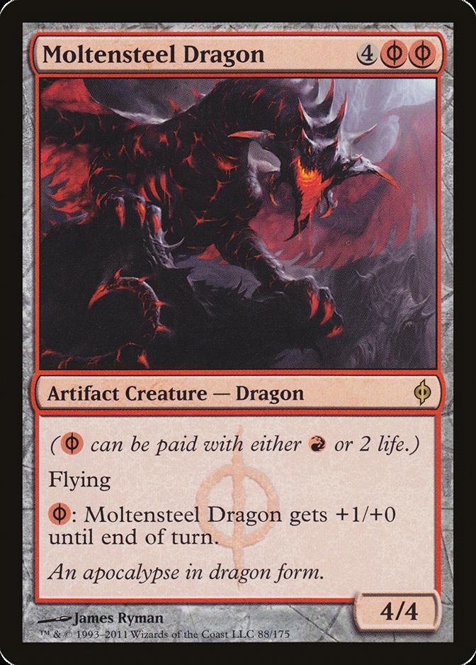 Moltensteel Dragon [NPH]