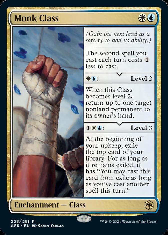 Monk Class [AFR]