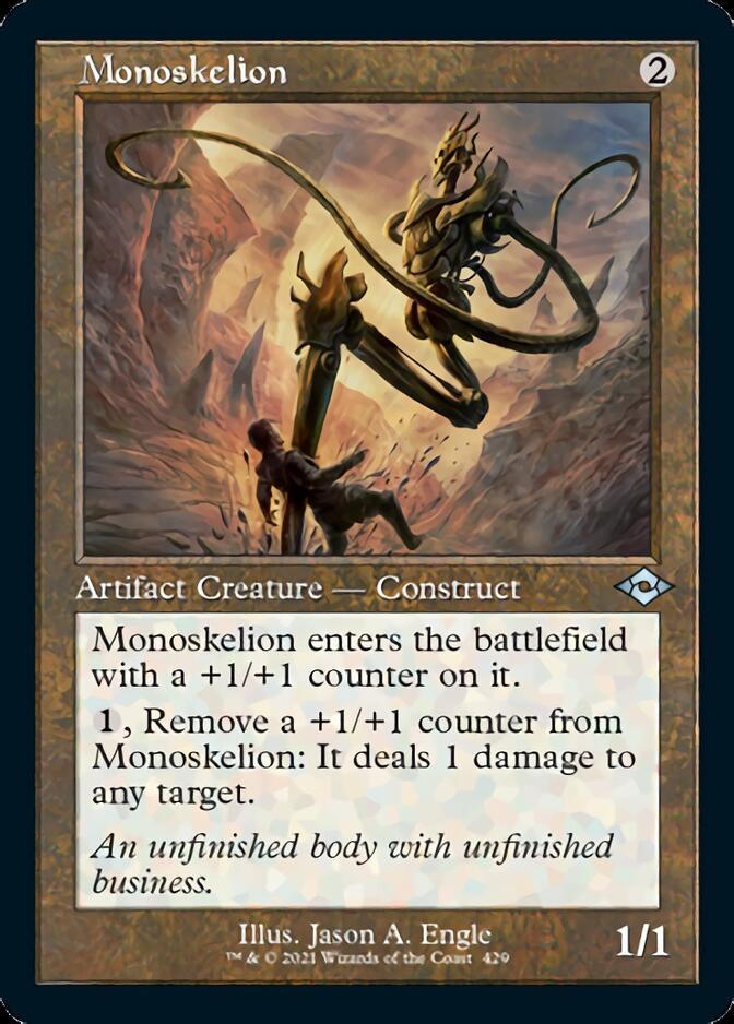Monoskelion <retro> [MH2]