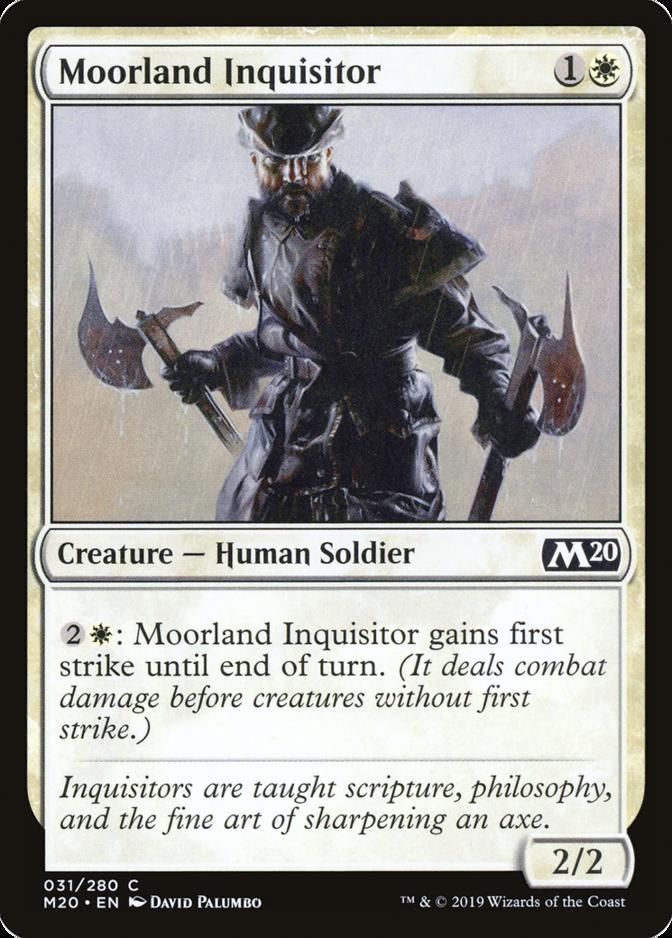 Moorland Inquisitor [M20]