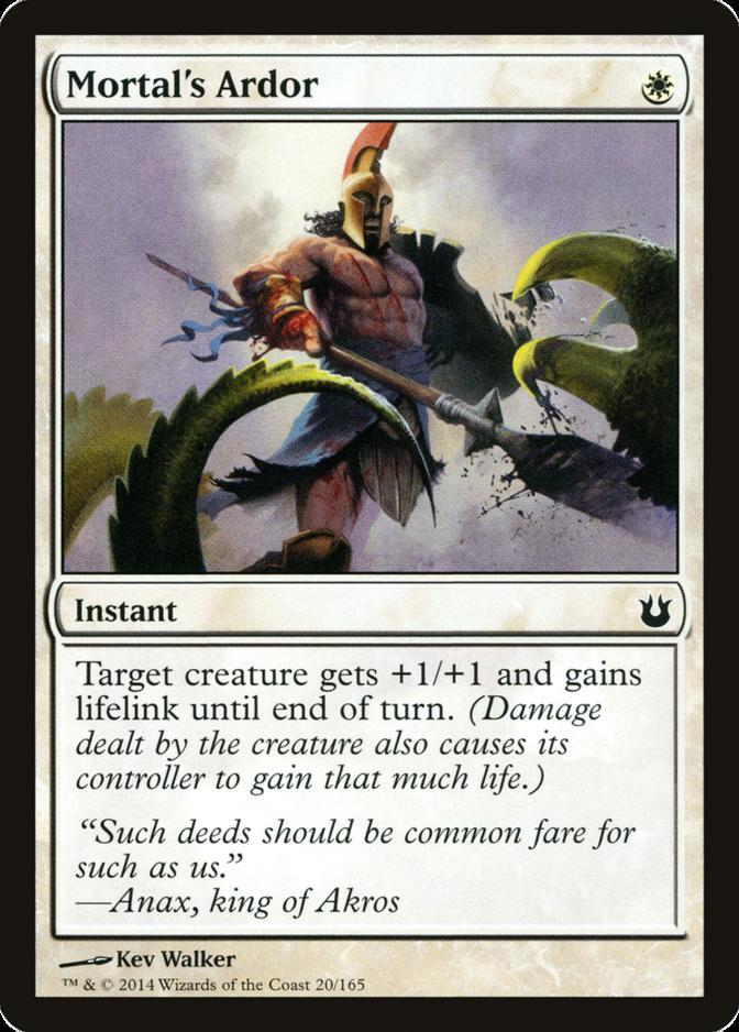 Mortal's Ardor [BNG]