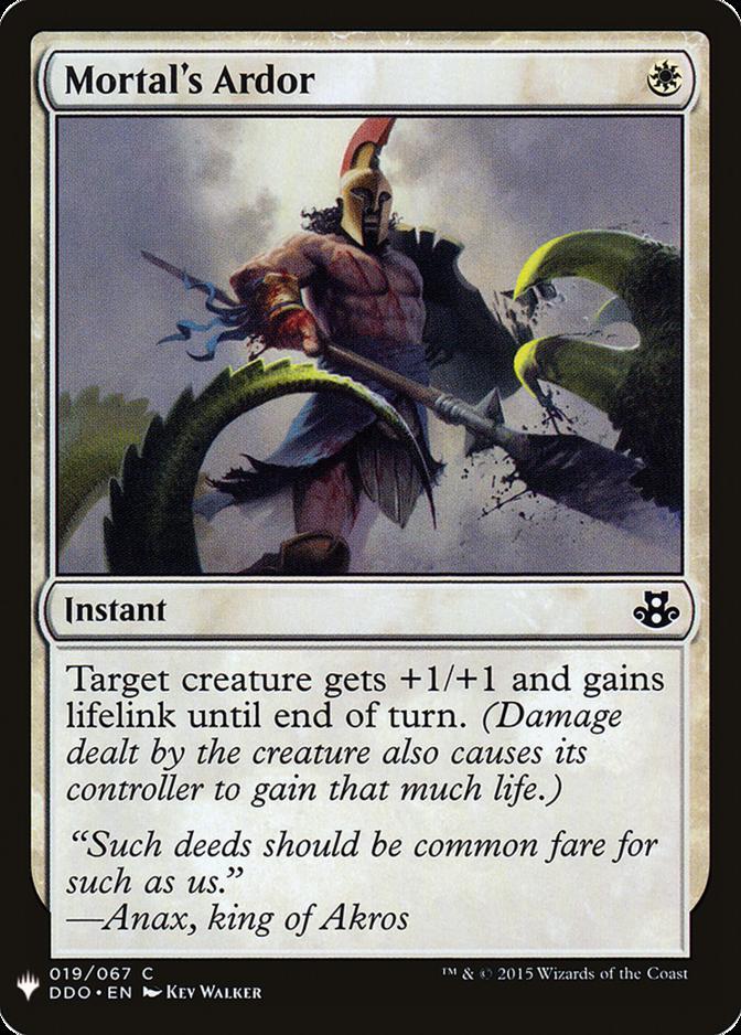 Mortal's Ardor [MB1]