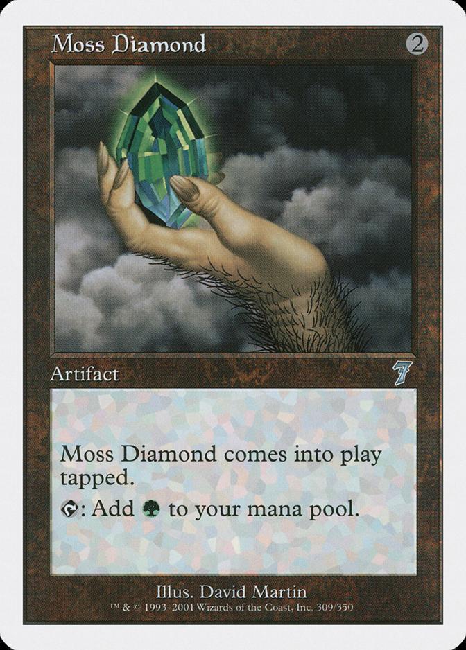 Moss Diamond [7E]