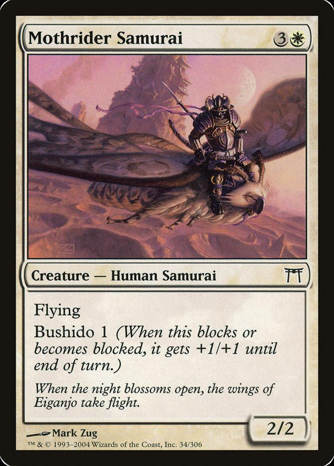 Mothrider Samurai [CHK]
