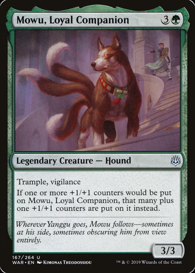 Mowu, Loyal Companion [WAR]