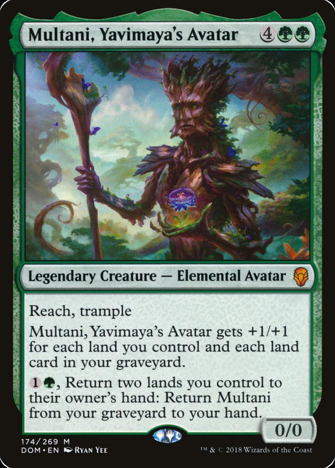 Multani, Yavimaya's Avatar [DOM]