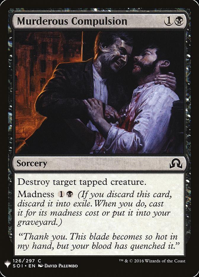 Murderous Compulsion [MB1]