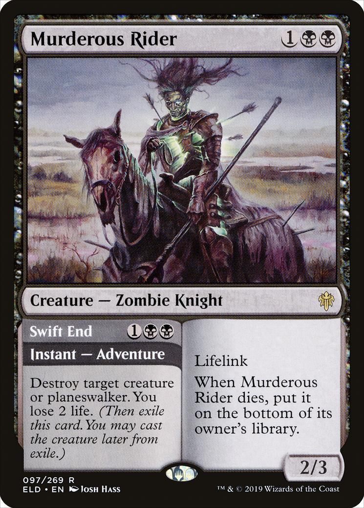 Murderous Rider [ELD]
