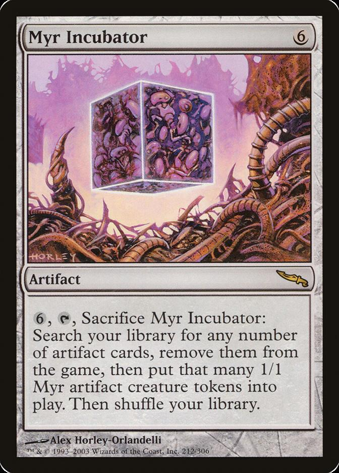 Myr Incubator [MRD]