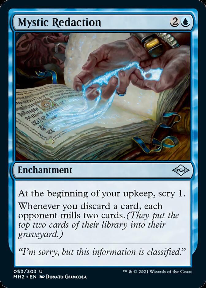 Mystic Redaction [MH2]