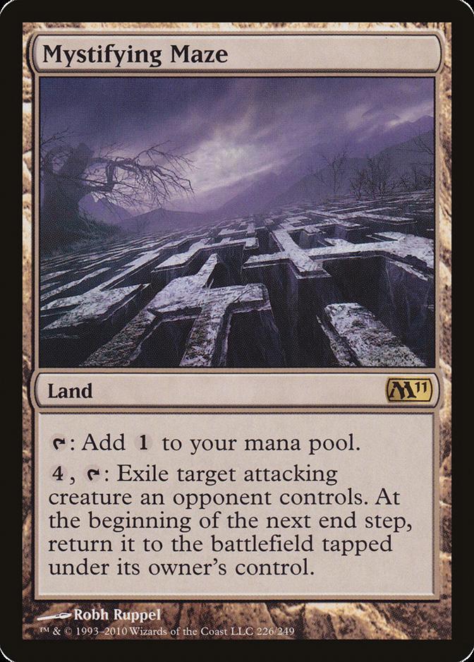 Mystifying Maze [M11]