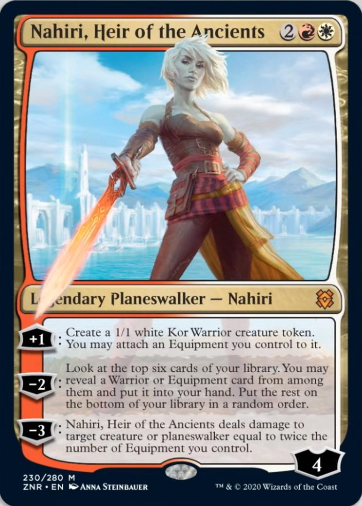 Nahiri, Heir of the Ancients [ZNR]